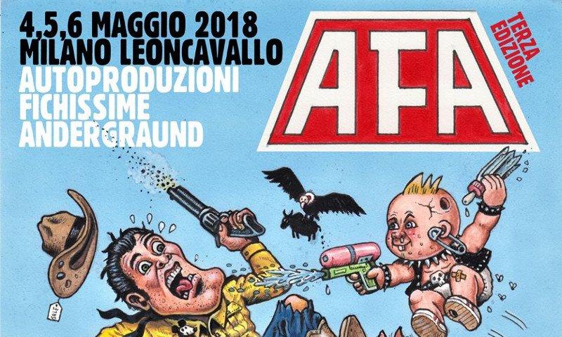 AFA Autoproduzioni Fichissime Anderground alla terza edizione