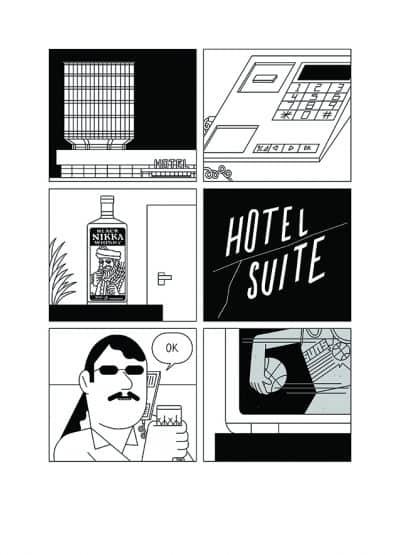 ANDREA CHRONOPOULOS -Hotel Suite-