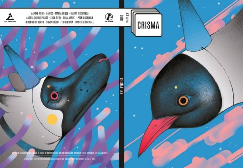 Anteprima di Crisma #3, raccolta curata da Lab.Aquattro