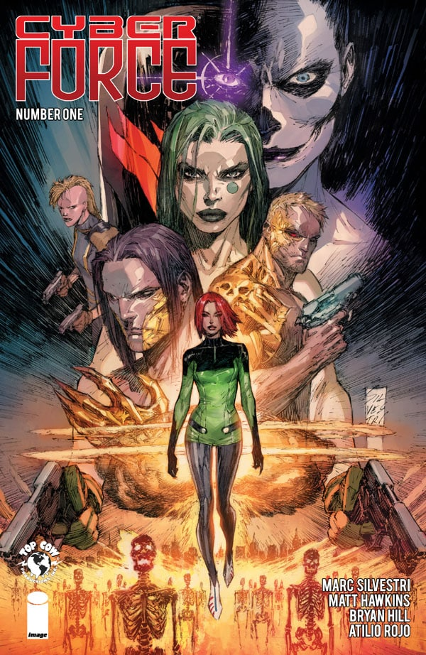 Cyber-Force-1_First Issue