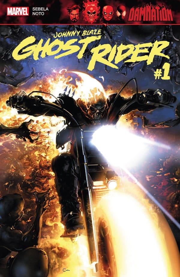 Damnation - Johnny Blaze - Ghost Rider 1