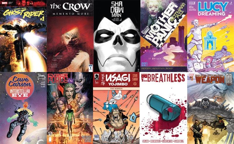 First Issue #22 e i tanti ritorni: da Cyberforce a Shadowman
