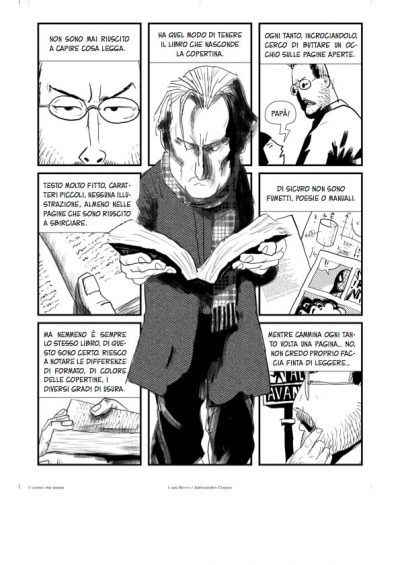 LUIGI RICCA -L'uomo che legge-