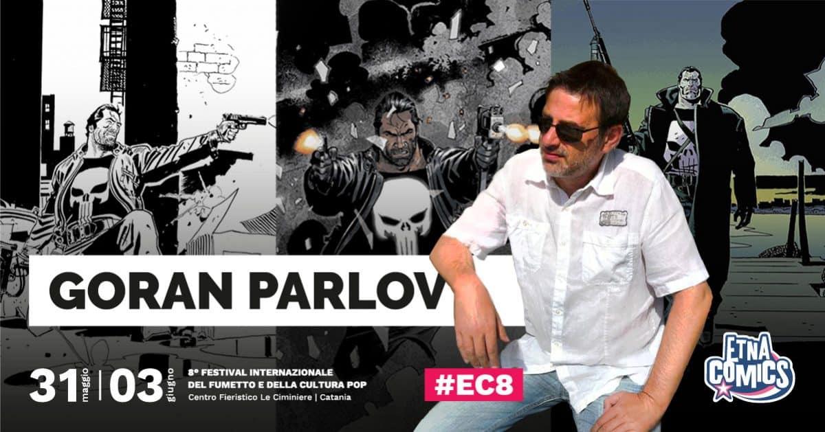 Goran Parlov ospite dell'Area Comics di Etna Comics 2018
