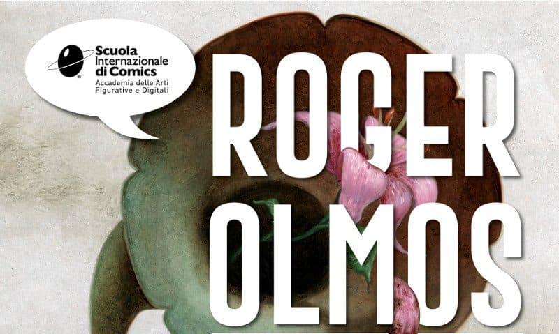 Roger Olmos alla Scuola Internazionale di Comics di Torino