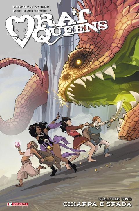 Disponibile il primo volume di Rat Queens: Chiappa e Spada
