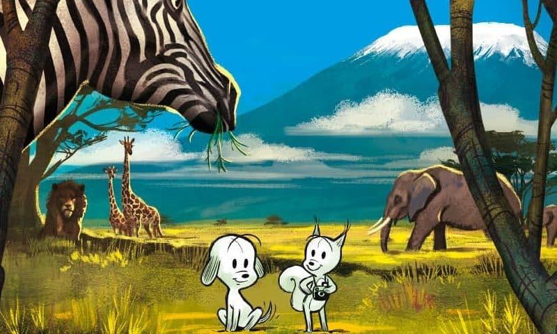 Piccole storie della savana, tra fumetto e libro per l'infanzia