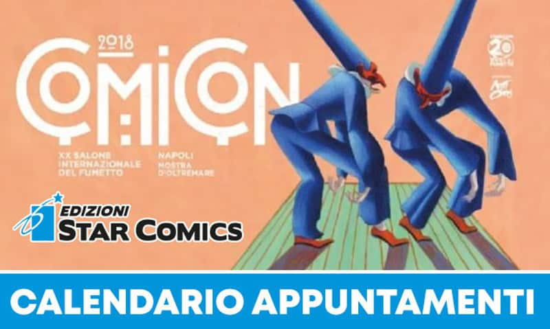Star Comics a Napoli Comicon 2018