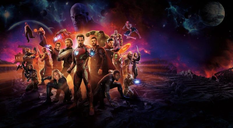 Il merchandise di Avengers: Infinity War