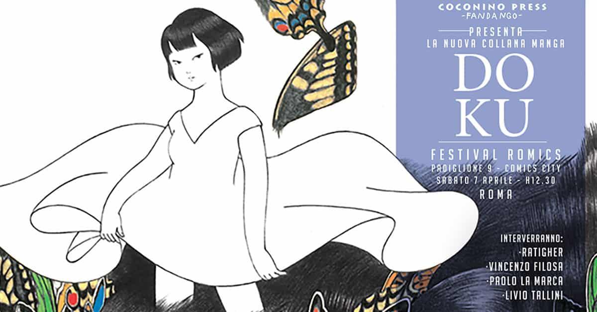 Coconino Press lancia la nuova collana di fumetto giapponese Doku