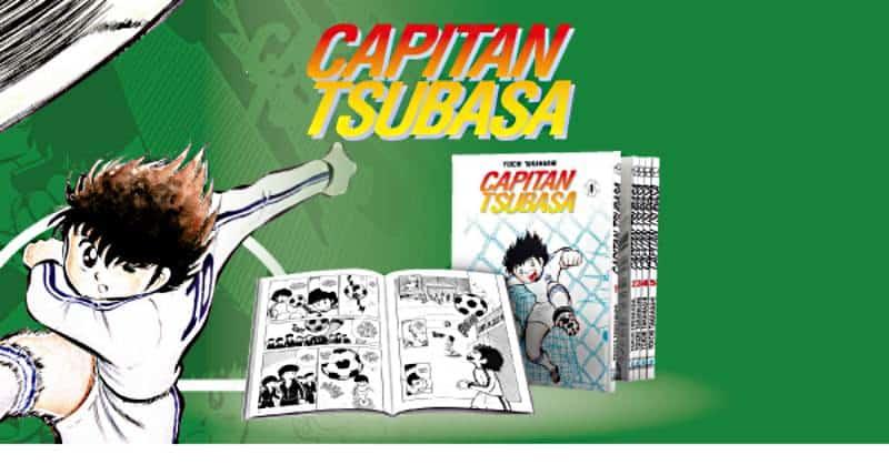 Capitan Tsubasa: Holly e Benji in allegato alla Gazzetta dello Sport