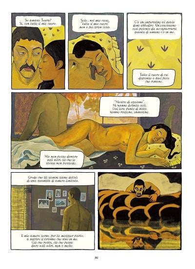 Il Gauguin a fumetti di Fabrizio Dori_Recensioni