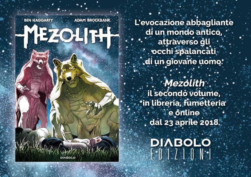 E' uscito il secondo e ultimo volume di Mezolith