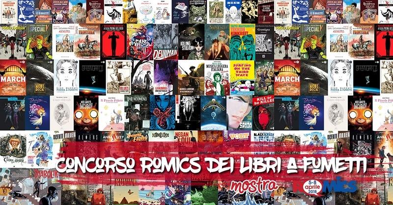 Tutti i vincitori del Concorso Romics libri a fumetti
