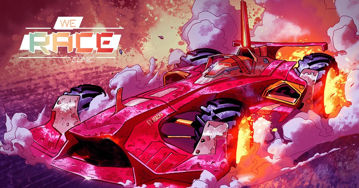 We Race: il nuovo webcomic di Scuderia Ferrari
