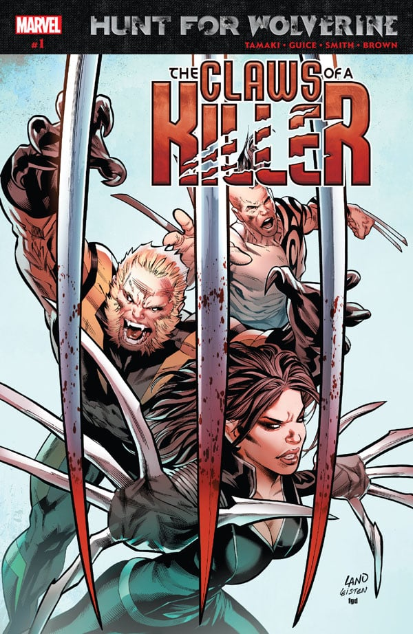 Hunt For Wolverine - Claws Of A Killer 1