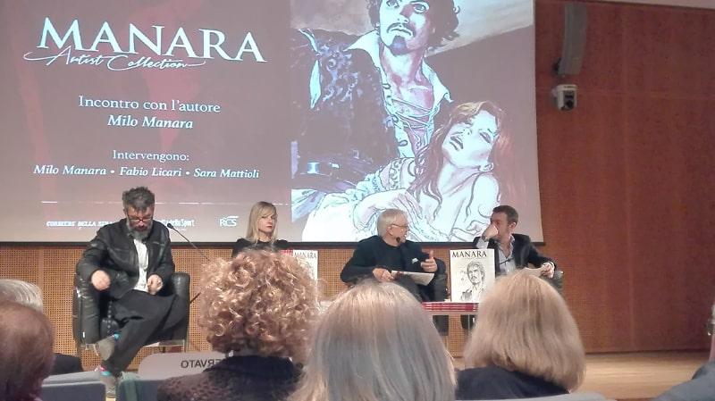 Milo Manara: conferenza stampa per la nuova collana RCS_Cronache
