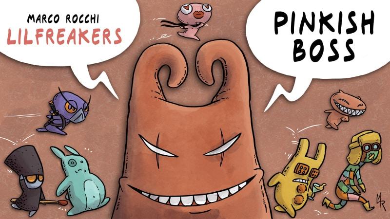 """Nuovo progetto a fumetti su kickstarter: """"Lilfreakers"""""""