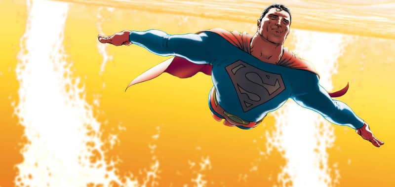 Superman, da All Star Superman, di Grant Morrison e Frank Quitely