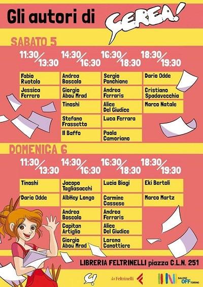 Torna CEREA! la Festa del fumetto a Torino