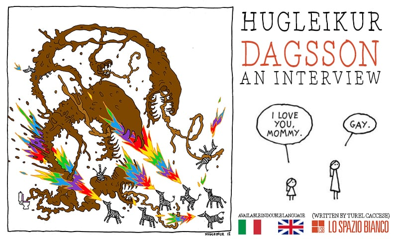 Anxiety in Iceland: An Interview with Cartoonist Hugleikur Dagsson