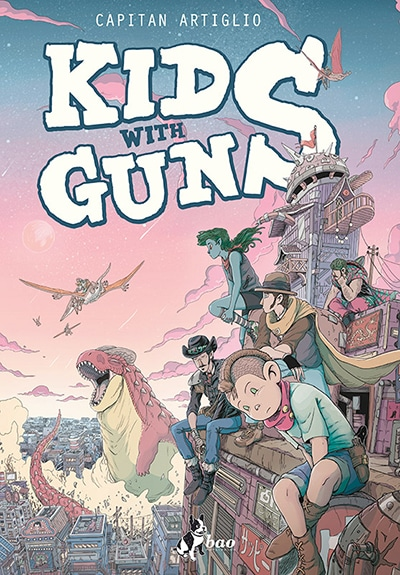 kids-with-guns_capitan-artiglio_cover_Recensioni