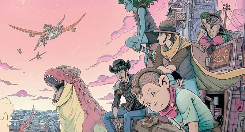 Kids with Guns: la dinotopia western di Capitan Artiglio