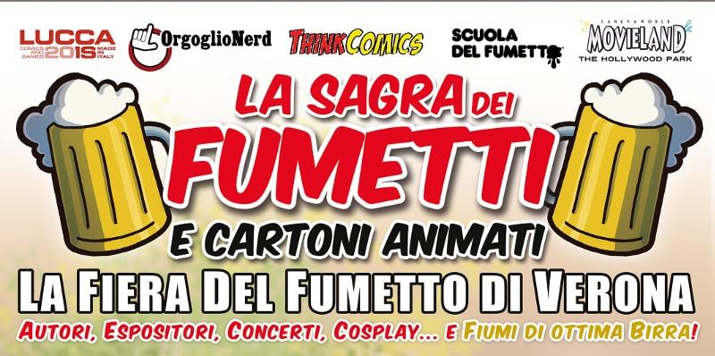 Torna La sagra dei fumetti a Verona