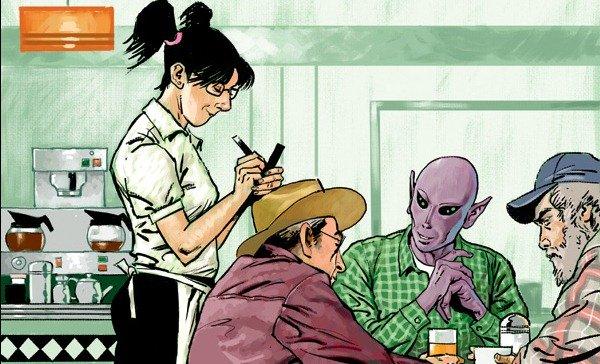 Resident Alien: SyFy mette in cantiere adattamento tv fumetto Dark Horse