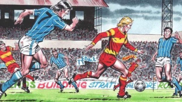 Roy of The Rovers: la striscia britannica ritorna in una nuova versione