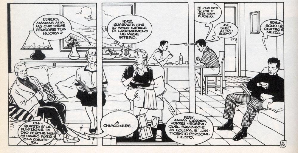 Il peso delle parole nel fumetto