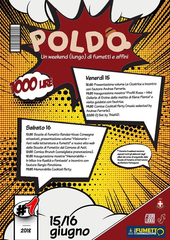 Poldo - Un weekend (lungo) di fumetti e affini con Sergio Ponchione
