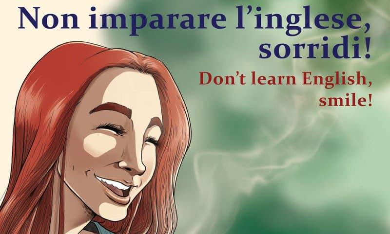 """Shockdom presenta """"Non imparare l'inglese, sorridi!"""""""
