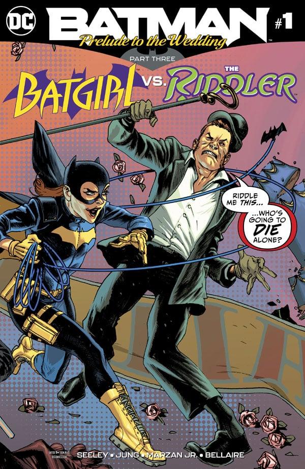 Batman- Prelude to the Wedding - Batgirl vs. Riddler 1