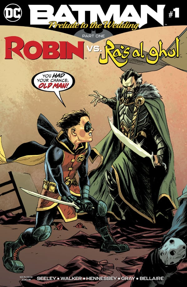 Batman- Prelude to the Wedding - Robin vs. Ra's Al Ghul 1