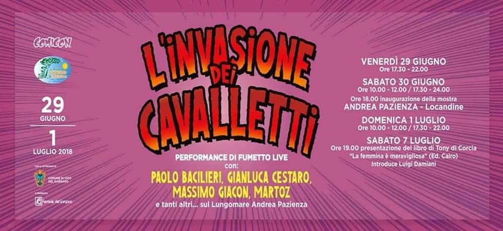 L'Invasione dei Cavalletti: dal 29 giugno a San Menaio (FG)