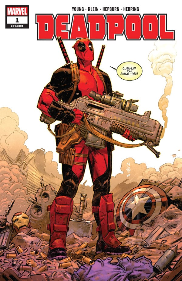 Deadpool-1_First Issue
