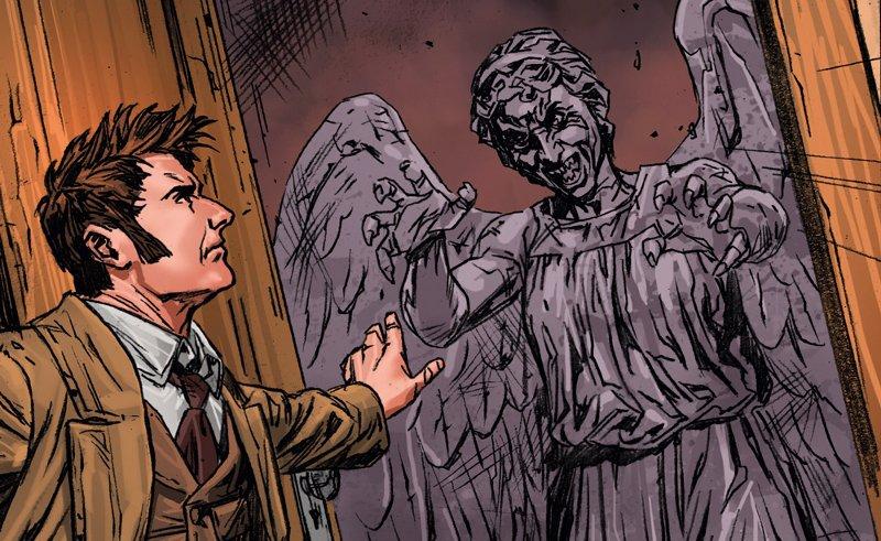 Doctor Who: Il Decimo Dottore vol. 2 – Gli Angeli Piangenti di Mons (Morrison, Indro, Carlini)_BreVisioni