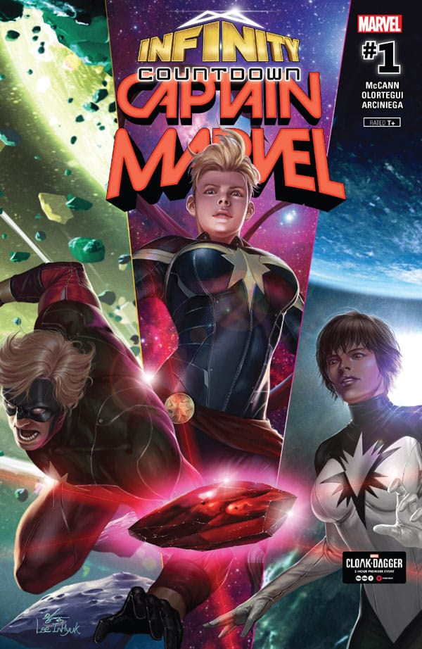 Infinity Countdown - Captain Marvel 1