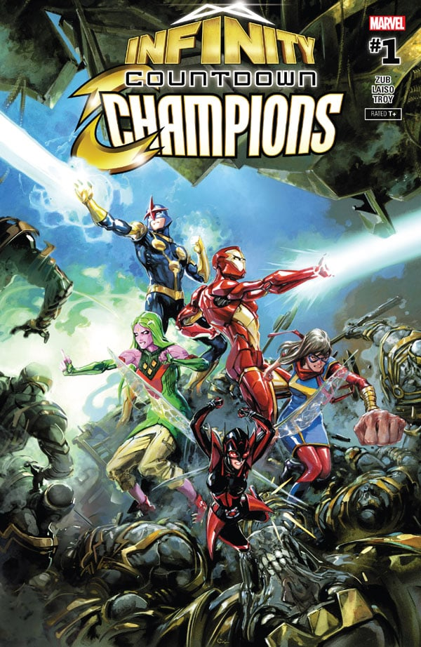 Infinity-Countdown-Champions-1_First Issue