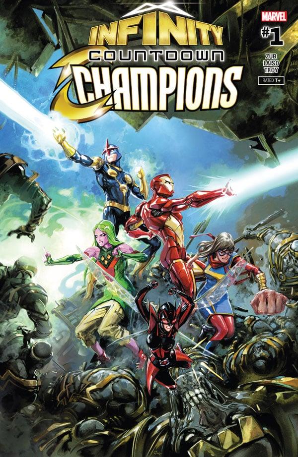 Infinity Countdown - Champions 1
