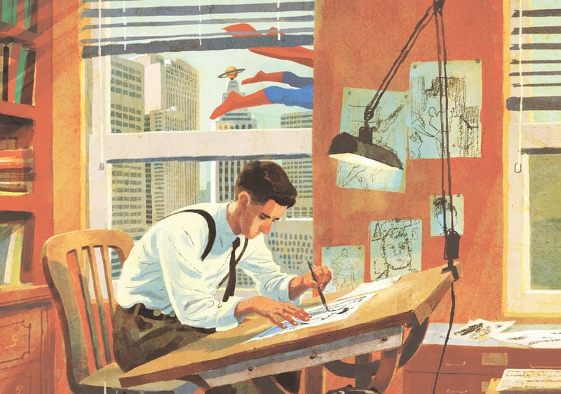 Ma Superman viene da Cleveland? La vita di Siegel e Shuster