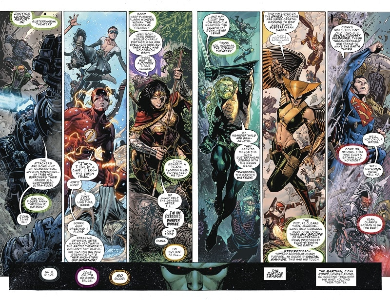 First Issue Presenta #11 - Justice League #1