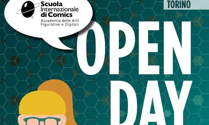 Scuola Internazione di Comics di Torino: open day
