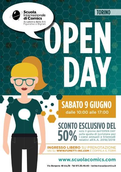 Scuola Internazione di Comics di Torino: open day_Notizie
