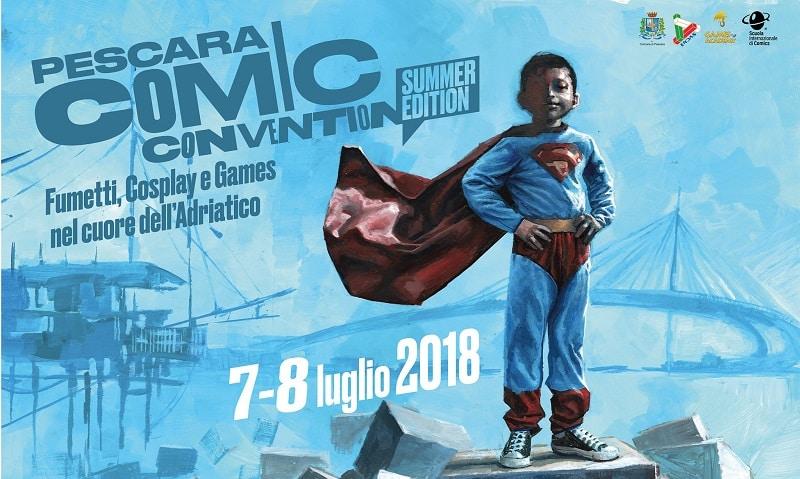 Pescara Comic Convention: tutti gli autori