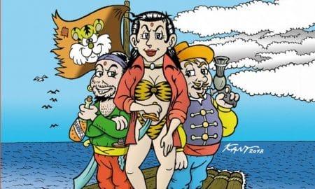 Pirati della magnesia evidenza
