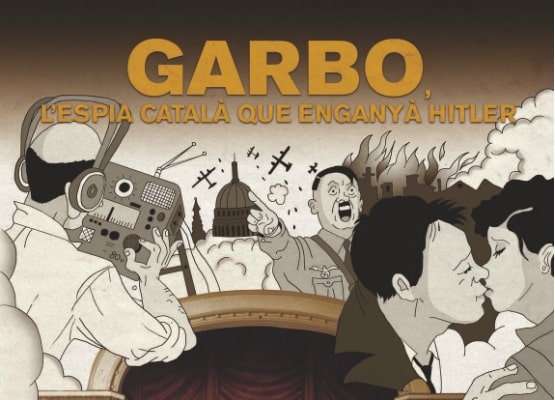 Charlie Matthau porta sullo schermo graphic novel Garbo: The Spy Who Fooled Hitler