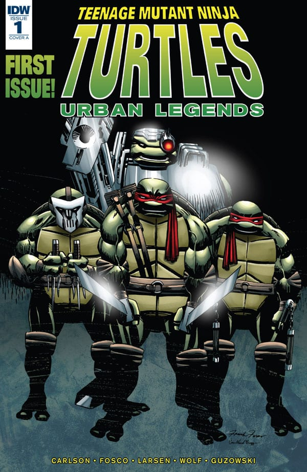 Teenage Mutant Ninja Turtles - Urban Legends 1
