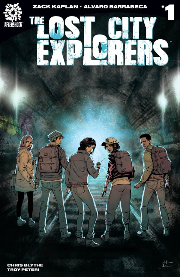 The Lost City Explorers 1